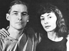Willem de Kooning with his wife Elaine.