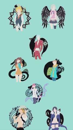 Read Nanatsu No Taizai from the story Fondos de Pantalla Anime ヽ(^o^ )^_^ )ノ by (Rex-Lombardi) with reads. Otaku Anime, Manga Anime, Anime Art, Tatouage Seven Deadly Sins, Seven Deadly Sins Anime, Seven Deadly Sins Tattoo, Animes Wallpapers, Cute Wallpapers, Dragonball Anime