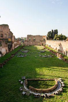 Stadium of Domitian on the Palatine Hill, Rome, Italy