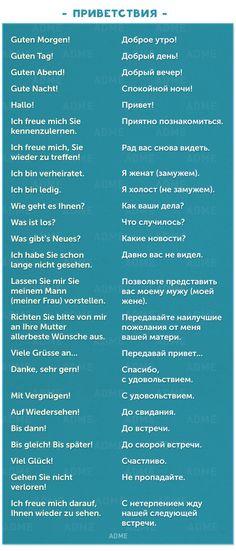 90полезных фраз нанемецком для повседневного общения