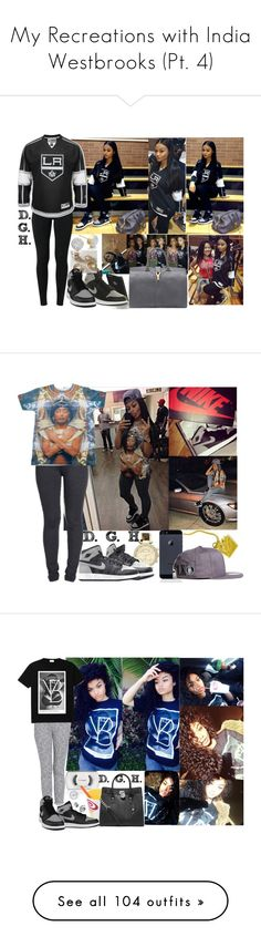"""""""My Recreations with India Westbrooks (Pt. 4)"""" by dopegenhope ❤ liked on Polyvore featuring NIKE, Monica Vinader, Yves Saint Laurent, MICHAEL Michael Kors, BasicGrey, Retrò, MAC Cosmetics, MANGO, Forever 21 and Joe's Jeans"""