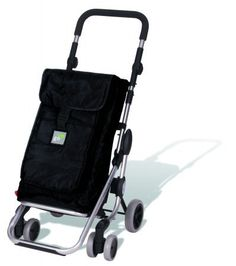 Amazon.com: Play S.A. 23910 211 Go Up Shopping Trolley - Black: Home & Kitchen