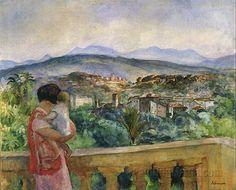 Cannes in Spring - Henri LEBASQUE (1865 - 1937)