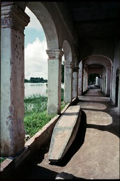 Boat under the arches - Mompox, Colombia   Flickr - Photo Sharing!