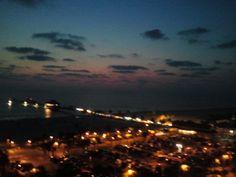 Clearwater beach dusk