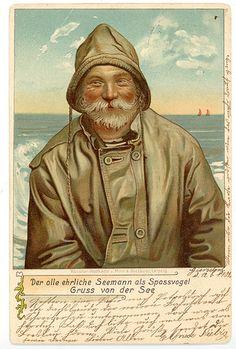Vintage German postcard
