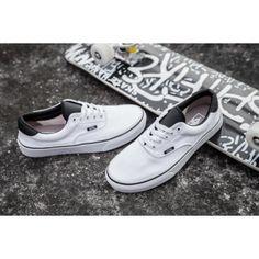 0a3685efbdaa99 Vans Era 59 (C P) Skate Shoes - True White Black Vans Schlittschuhe