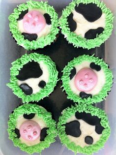 Cow Cupcake Cake | Cow cupcakes | Flickr - Photo Sharing!