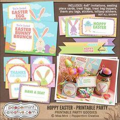 Hoppy Easter Printab