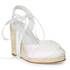 Wedge - Capella by Forever Soles | Forever Soles Bridal Shoes