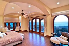 wow what a room and view!  #home #interior
