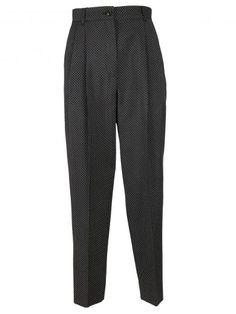 DOLCE & GABBANA Dolce & Gabbana Polka Dot Trousers. #dolcegabbana #cloth #https: