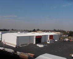 Bâtiment modulaire, entrepôt de stockage par Legoupil Industrie de 1500 m².