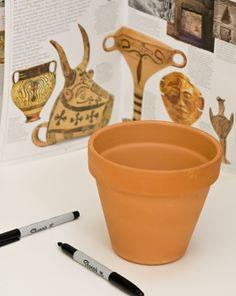 Make Art Like the Ancient Greeks: Black-Figure Vase Painting Activity