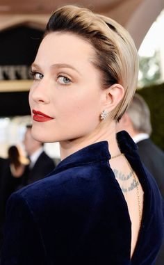 Evan Rachel Wood from Best Beauty Looks: SAG Awards 2017  We've never seen new growth look so good. Yes to this Westworld star's beauty.