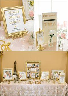guest book table @weddingchicks