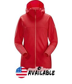 B01MRJWSSR : Arc'teryx Maeven Hooded Fleece Jacket - Women's Rad S. Material: [face fabric] Torrent 190 (84% polyester 16% elastane) [lining] Torrent 250 (47% nylon 36% polyester 17% elastane). Fit: regular. Center Back Length: 26in. Hood: semi-flexible visor. Pockets: 2 zippered hand #Apparel #OUTERWEAR