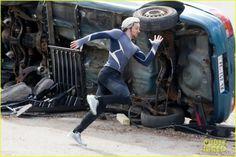 Elizabeth Olsen & Aaron Taylor-Johnson: 'Avengers 2' Set Photos! | elizabeth olsen aaron taylor johnson avengers 2 set photos 18 - Photo