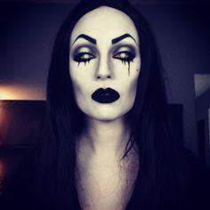 Undead Vampira makeup vampire Halloween horror IG: TheTrashMask