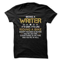 WRITER T Shirts, Hoodies. Check Price ==► https://www.sunfrog.com/Jobs/WRITER-80175868-Guys.html?41382