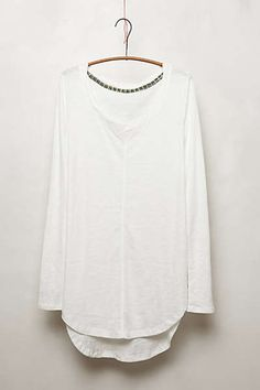 Anthropologie - Seamed Scoopneck by Pure + Good size m