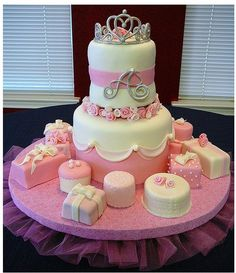 girl baby shower cake omg so cute