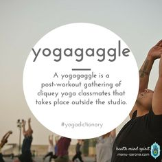 yogaggle - urban Dictionary