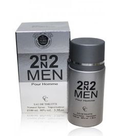 2 on 2 Men  Gender : Men  Classic Collection  Type : Natural Spray  Size: 100ml.  Model: MP 1003