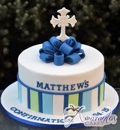 Confirmation Cakes For Boy Fondant Cakes, Cupcake Cakes, Comunion Cakes, Boy Communion Cake, Confirmation Cakes, Baptism Cakes, Dedication Cake, Religious Cakes, Chocolate Cake Recipe Easy