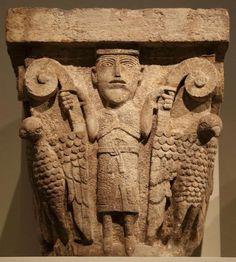 MEDIEVAL SPAIN - Capitel de Santa María de Besalú - La Garrotxa, Girona