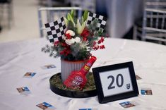 NASCAR gone classy?  We got you covered!  Lily Greenthumb's Floral Artistry