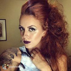 blowUp @im.costa  Makeup @ciliosdacatarina  @paulafalcii  Tudo isso tu encontra no #espacodellasbar  #EspaçoDellasBeautyBar #production #penteados #blowout #blowUp #conceited