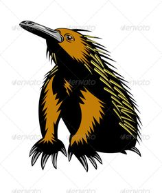 Realistic Graphic DOWNLOAD (.ai, .psd) :: http://hardcast.de/pinterest-itmid-1005208174i.html ... Spiny Anteater or Echidna ...  animal, echidna, illustration, isolated, retro, spiny anteater, white background, wildlife, woodcut  ... Realistic Photo Graphic Print Obejct Business Web Elements Illustration Design Templates ... DOWNLOAD :: http://hardcast.de/pinterest-itmid-1005208174i.html