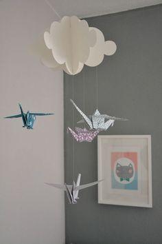 Inspiration pour mobile grue origami (2)                                                                                                                                                     Plus