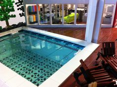 Pool by davekaleta, via Flickr.   ...yes, this is really LEGO!