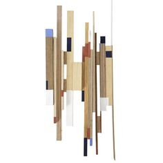 how to recycle left over wood and turn it in to art - by artist leise dich abrahamsen
