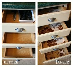 IHeart Organizing: October Featured Space: Kitchen - Disastrous Drawers {part 2}