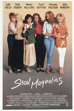 SHIRLEY MACLAINE JULIA ROBERTS steel magnolias CLASSIC MOVIE POSTER 24X36 Brand New. 24x36 inches. Will ship in a tube. - Multiple item purchases are combined the next day and get a discount for domes