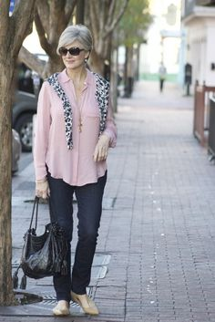 sunday style   preppy essentials   Style at a Certain Age