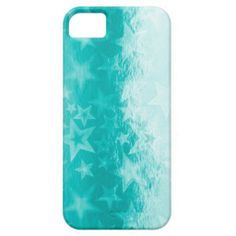 Metallics Aquamarine Starshine iPhone 5 Case by www.piscesmoon.co.uk #zazzle #iphone #iphone5 #iphonecase #stars #metallics #aqua #aquamarine #turquoise #cyan