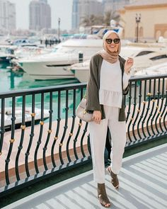 Ideas For Fashion Style Summer Casual Ootd Street Hijab Fashion, Muslim Fashion, Modest Fashion, Fashion Outfits, Women's Fashion, Modest Clothing, Hijab Style, Casual Hijab Outfit, Hijab Chic