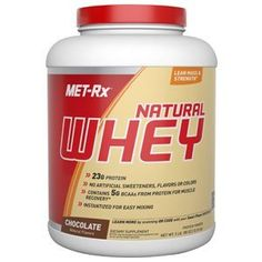 MET-Rx - Protein Powder - 100% Natural Whey - Chocolate or Vanilla