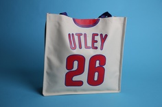 StubHub Chase Utley Tote Bag free to women 15 and up on Sunday, May 5th.  Want this!!!