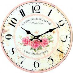 Clock Rosenholz MDF. Fi 34 cm