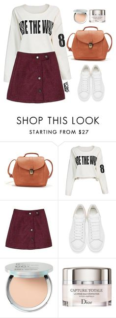 """""""Yoins 2:10"""" by mycherryblossom ❤ liked on Polyvore featuring Alexander McQueen, It Cosmetics and Christian Dior"""