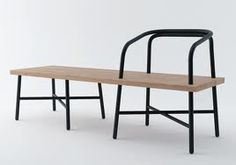 Interesting Idea for the bench/chairs in the CAFE area.