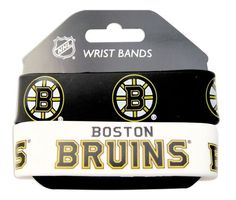 NHL Boston Bruins Silicone Rubber Bracelet Set, 2-Pack by aminco. $7.99. Show off your team spirit at the game or around town with Aminco's silicone rubber bracelets. Each pack comes with two different bracelets, to keep for yourself or share with a friend.