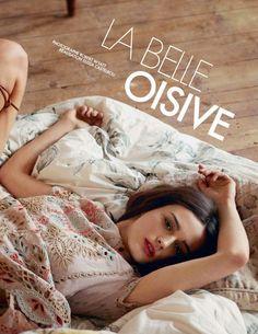 """La Belle Oisive"" Sibui Nazarenko for ELLE France April 2015"