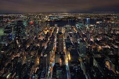 NYC - Midtown East, the East River, & Queens/ Brooklyn across the water.. | Flickr - Photo Sharing!