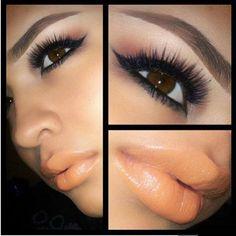 That lip color...wow